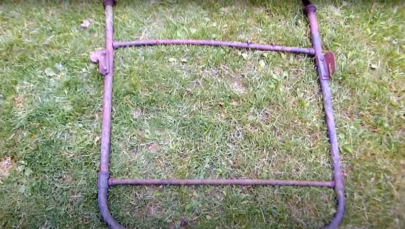 Самоходное ведро для стройки и огородных работ