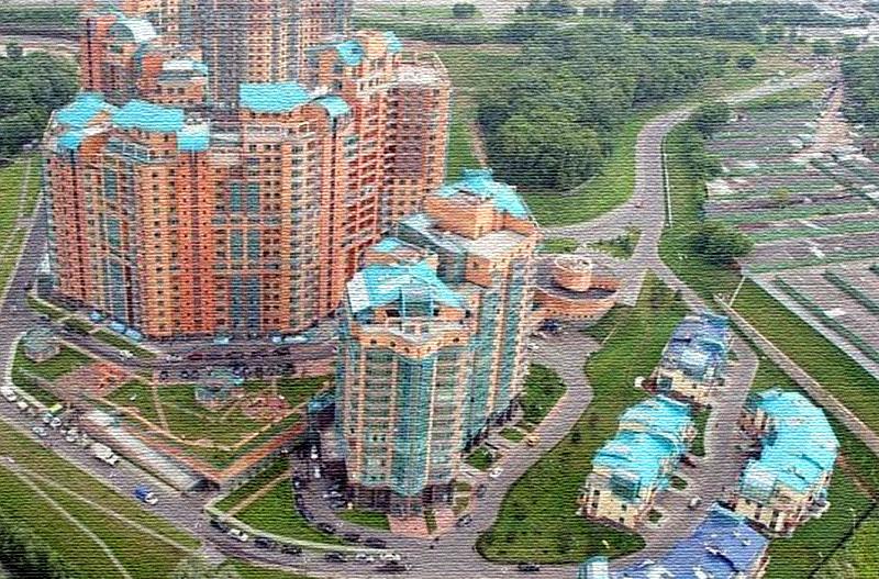 Пентхаус Сати Казановой расположен на 35 этаже