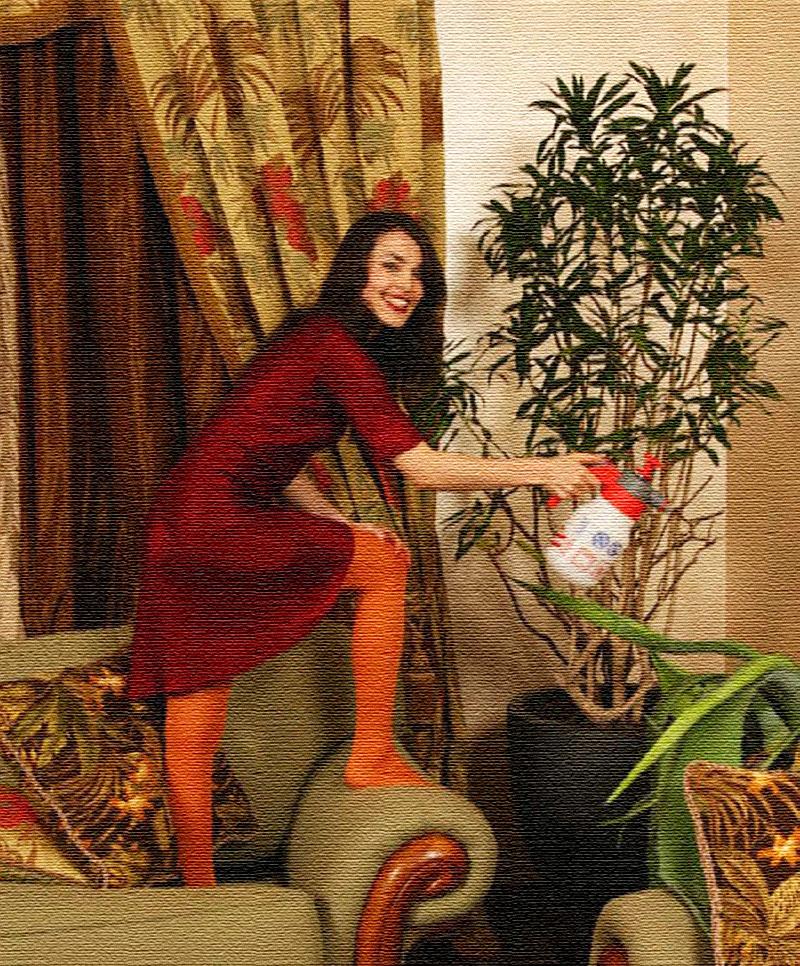 Все растения в апартаментах подбирал профессиональный флорист