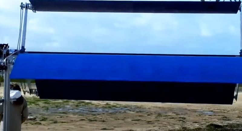 Современная модель ветрогенератора горизонтального типа