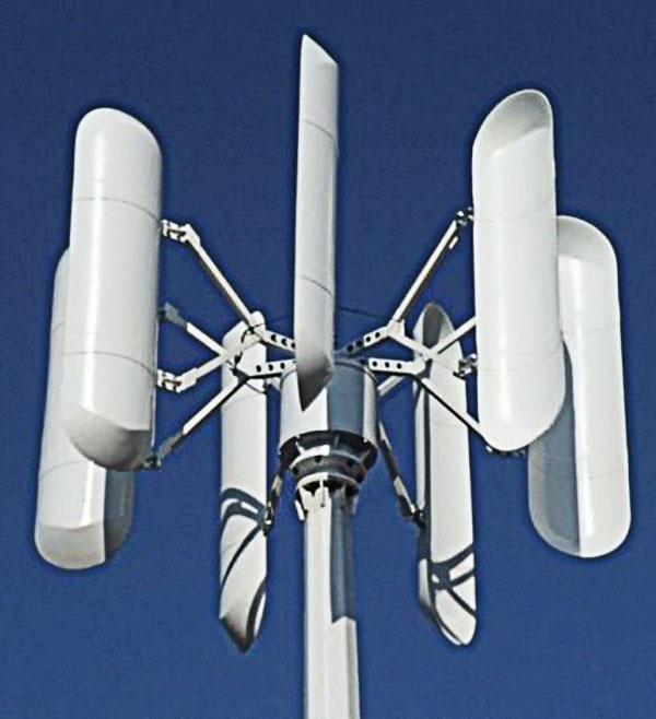 Ветроэнергетическая установка роторного типа