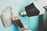 Как быстро и легко снять старые обои со стен