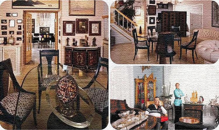 Гостиные, зоны для отдыха и чайных церемоний и кухня