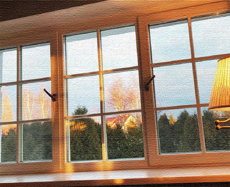 Из окна спальни открывается изумительный вид