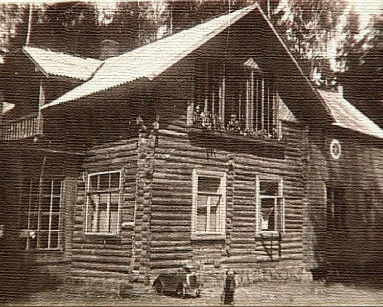 Так выглядел дом в шестидесятые года прошлого века