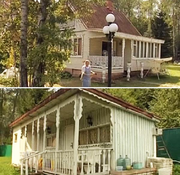 Старый домик был в ветхом состоянии, поэтому его решили полностью демонтировать