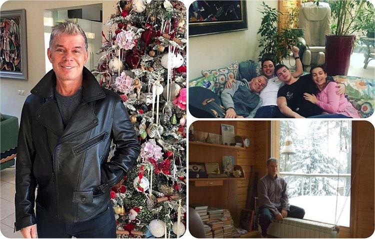 На Рождество семья всегда украшает ёлку декором, сделанным своими руками