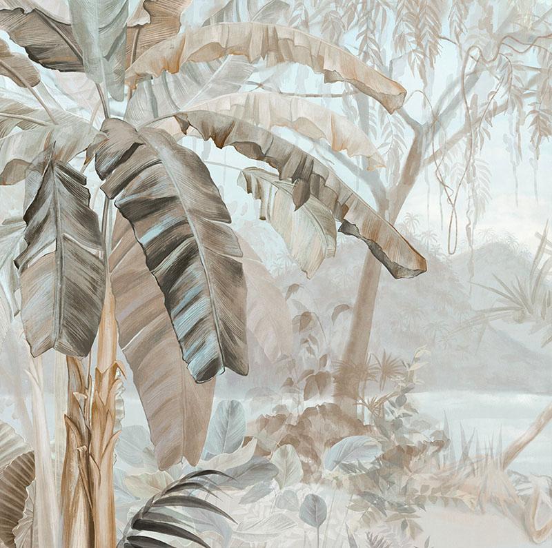 Художник реалистично повторил каждую прожилку листочков
