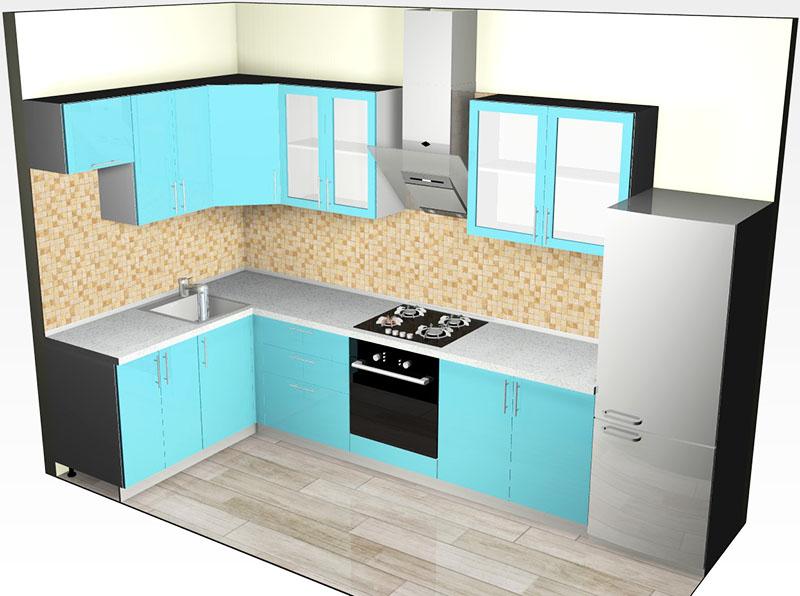 Обратите внимание, чтобы в портфолио у дизайнера были не только схемы, составленные в редакции, но и реальные фотографии кухонь