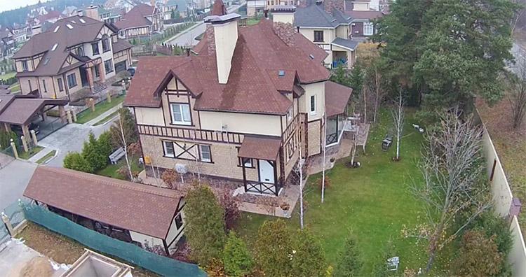 Роскошный дворец Дмитрия Нагиева