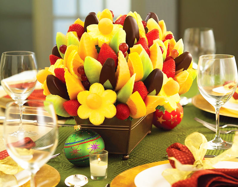 Сделайте из фруктов объёмный букет своими руками – это не так сложно, как кажется