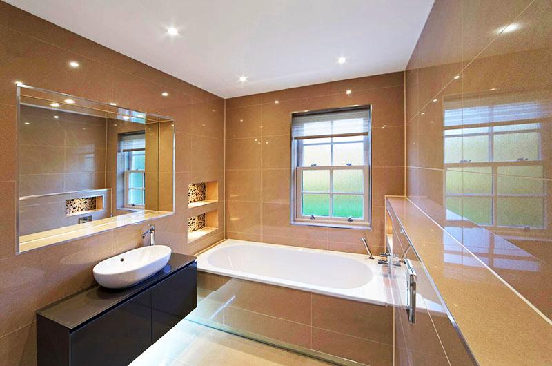 Советы по устройству освещения в ванной комнате