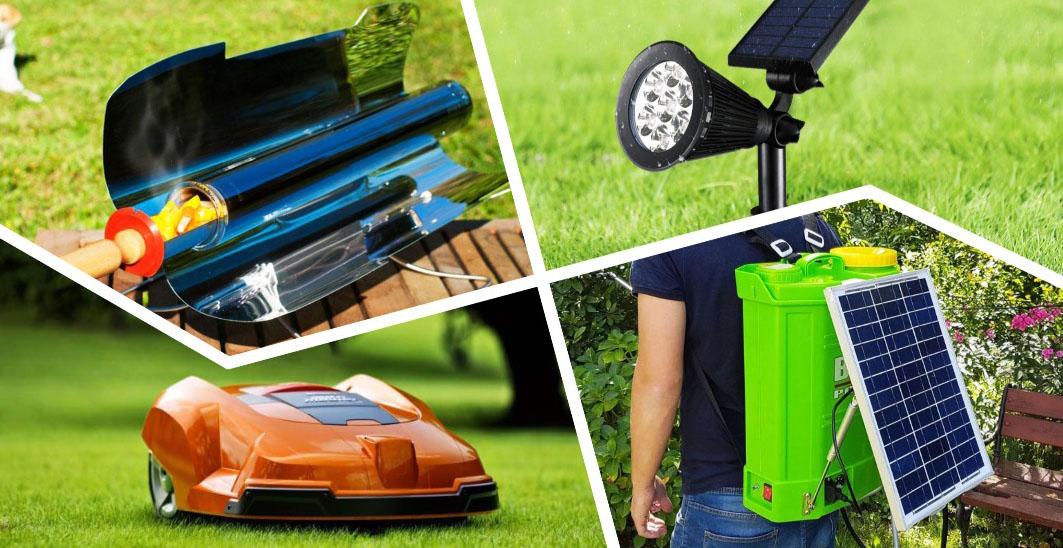5 крутых изделий для дачи, работающих от солнечной энергии