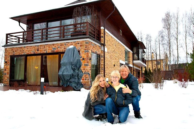 Дмитрий Харатьян и его дом