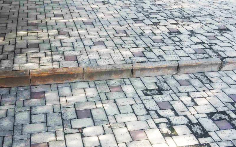 Последствия воздействия соли на тротуарную плитку