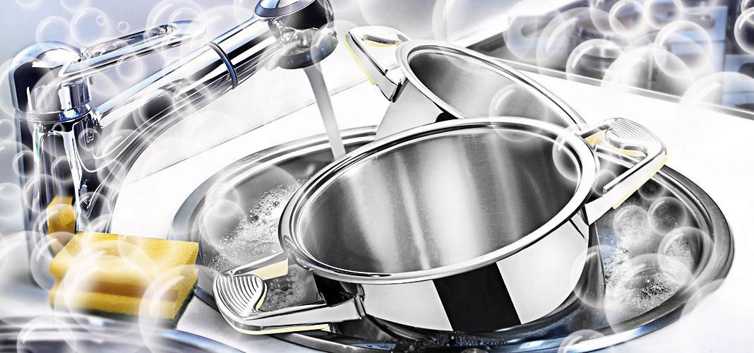Как отмыть сильно пригоревшую кастрюлю из нержавейки