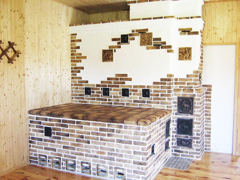 Печка может стать настоящим произведением искусства, но это очень затратно