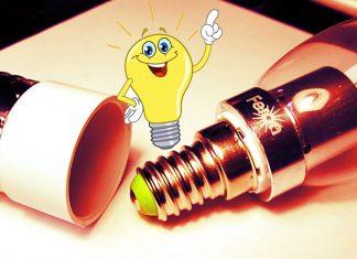Как вкрутить лампочку с цоколем Е14 в патрон под Е27