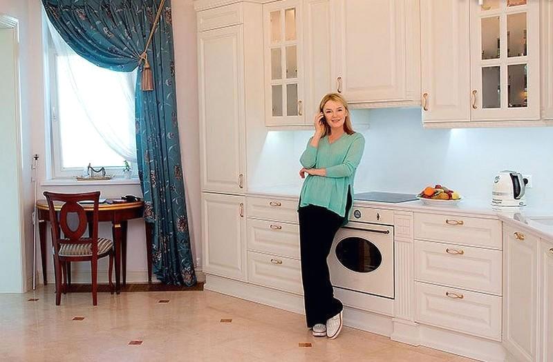 Чем закончилась история трёхлетнего ремонта шикарной квартиры Ларисы Вербицкой