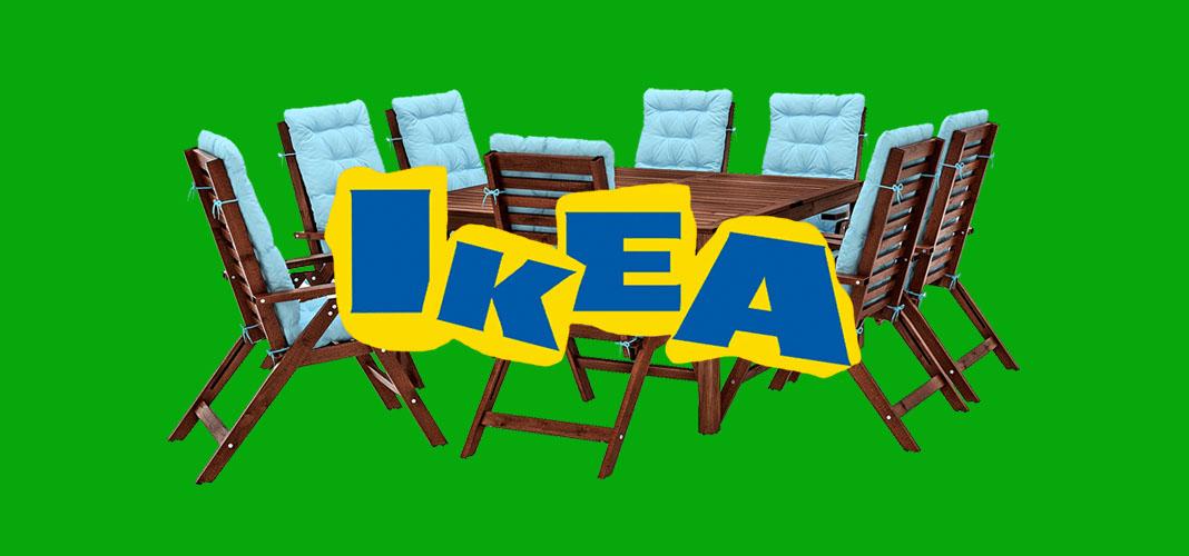 Мебель для дачи и сада из ИКЕА