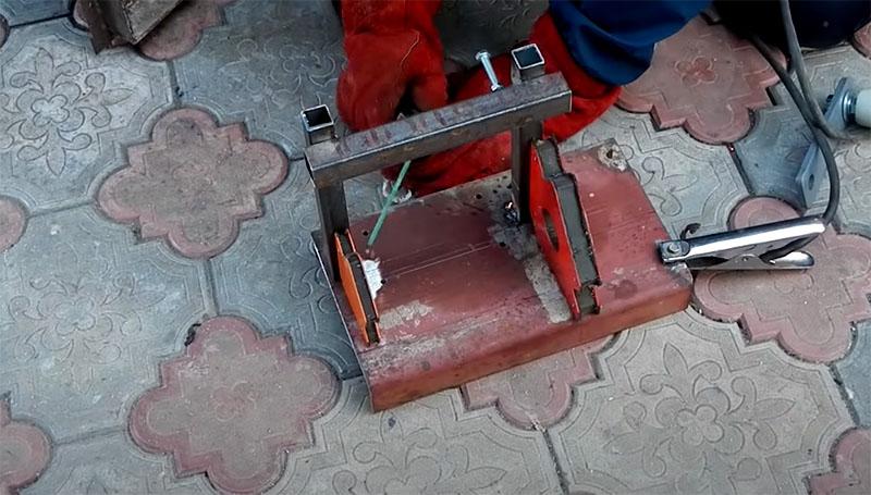 Cамодельный гриндер из электродвигателя