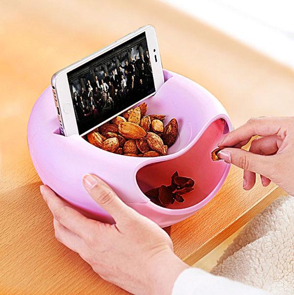 Ленивая тарелка выполнена из пищевого пластика