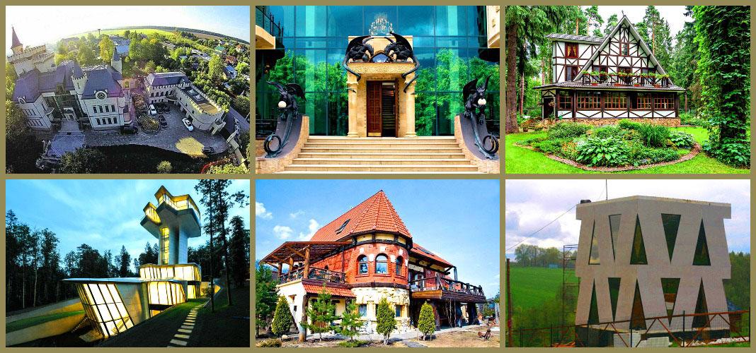 Топ частных домов, имитирующих памятники архитектуры