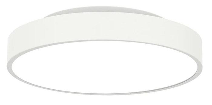 Лаконичный дизайн, универсальный белый цвет и диаметр около 45 см делает его настоящим украшением помещения
