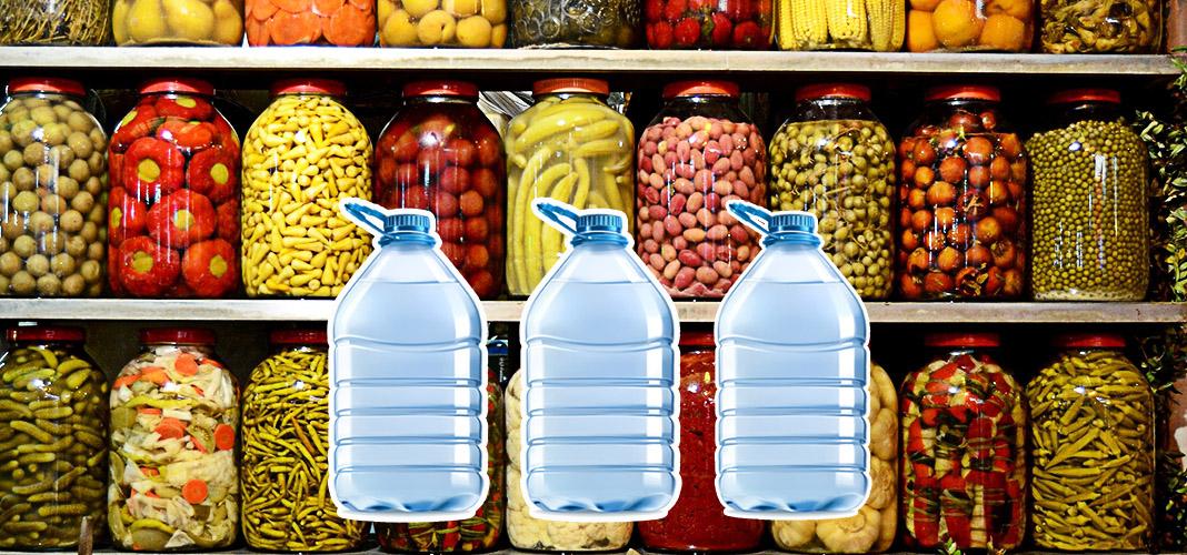 Самостоятельное изготовление пластиковых чехлов для защиты стеклянных банок