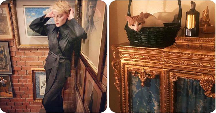 Дизайнерские шедевры в парижской квартире и на даче Ренаты Литвиновой