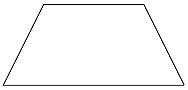 Правильная трапеция также имеет одинаковые длины диагоналей, однако на квадрат она явно не тянет