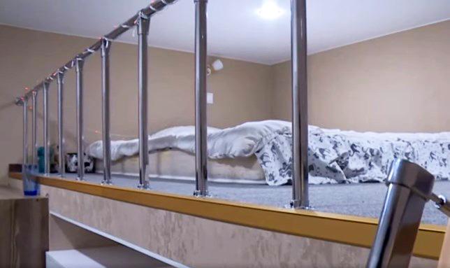 Спальная зона на втором этаже