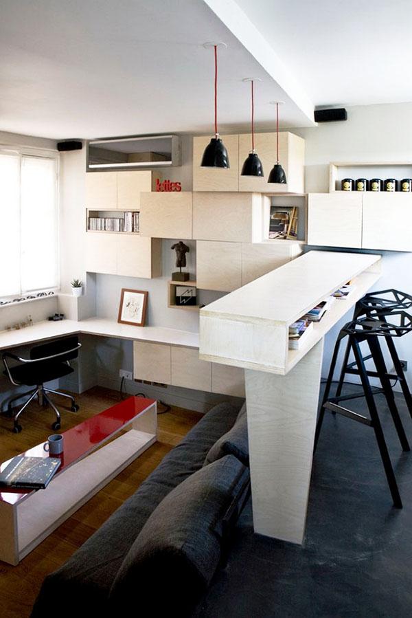 Квартира 12 м2 в Париже