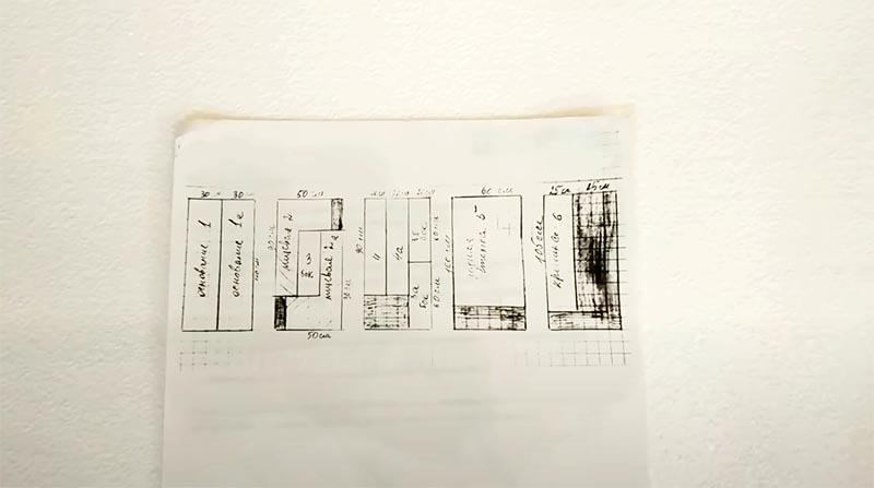 Вот по этому чертежу можно расчертить и разрезать приобретённые листы пенопласта