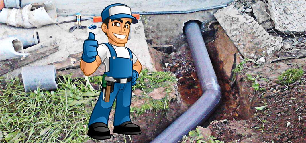 Как правильно провести канализацию под фундамент