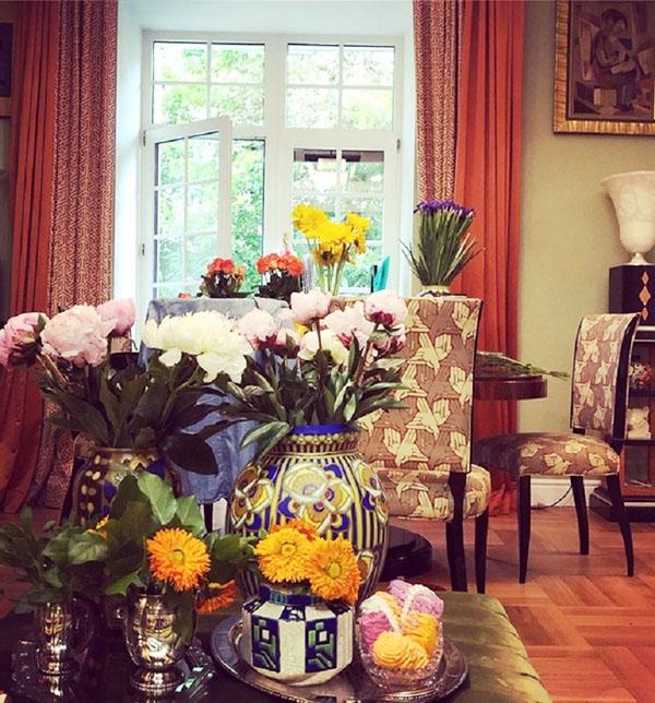 Божена Рынска и её роскошные апартаменты