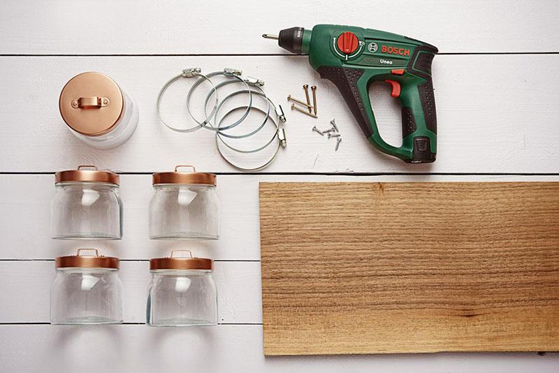 Что нужно для изготовления самодельного органайзера в ванную