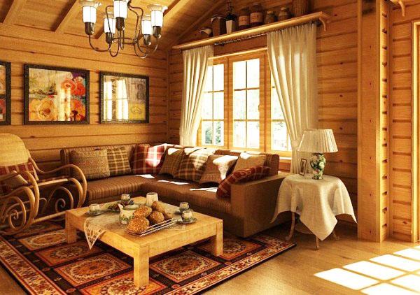 Как в деревенских домах делали тёплые полы