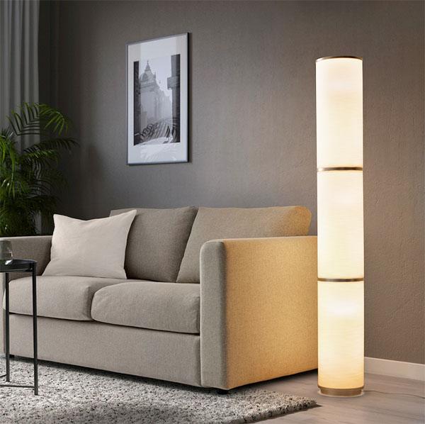 В светильнике шесть ламп. Подберите светодиодные лампы с соответствующей мощностью