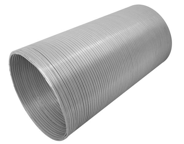 Каналы из алюминия обладают хорошими аэродинамическими качествами