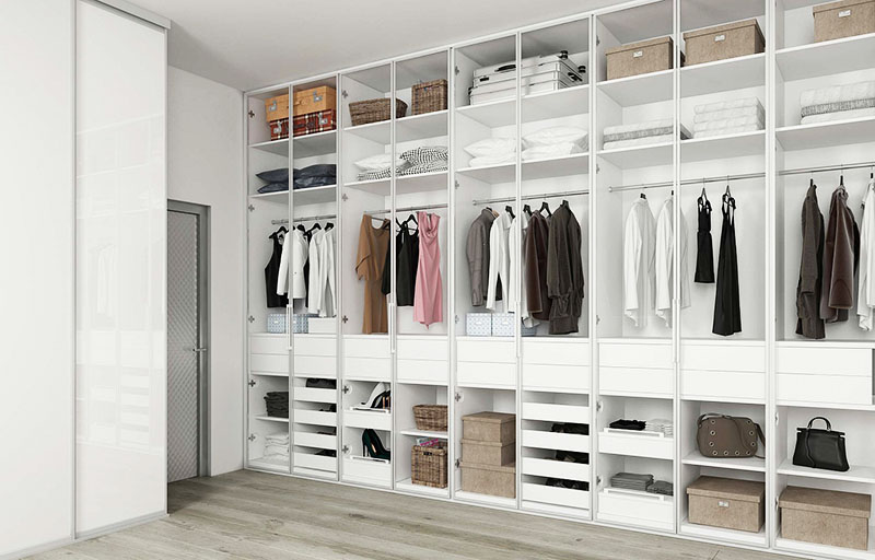 Идеи для гардеробной в квартире и в доме