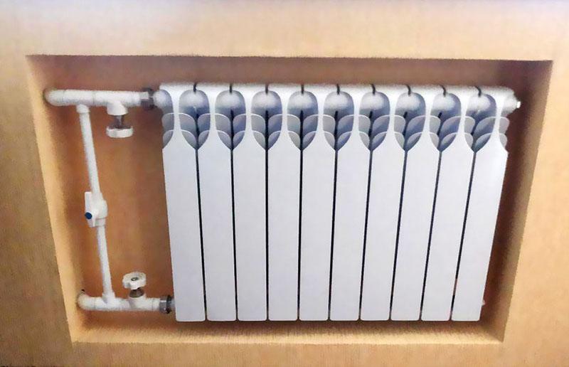 Понизить температуру следует другим доступным способом, а краны следует перекрывать, только если есть необходимость демонтировать радиатор