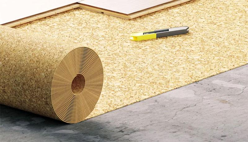 Если вы постелили пробку под ламинат, можете не беспокоиться, что соседи будут высказывать вам своё недовольство из-за шума
