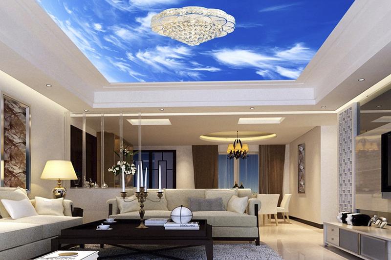 3D-потолки и их фантастические возможности