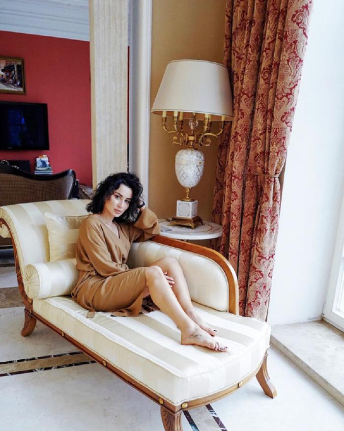 Эксклюзивные фото пентхауса и «умного дома» светской львицы Тины Канделаки