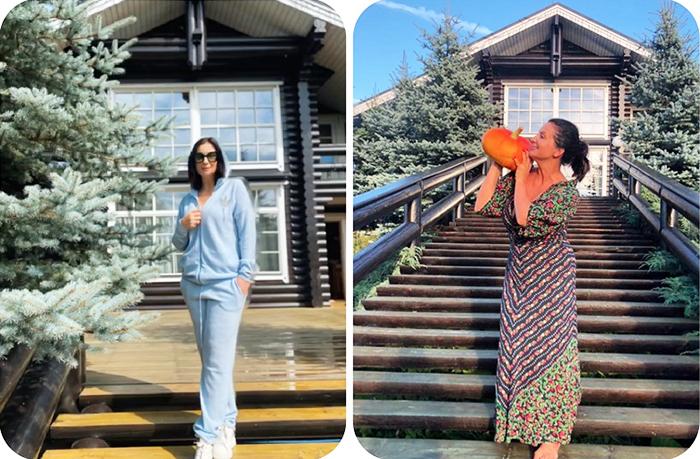 Где живут Екатерина Стриженова с супругом