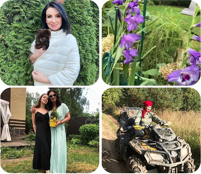 Екатерина Стриженова увлеклась выращиванием цветов, особенно ей нравятся полевые ромашки, гладиолусы и сортовые розы
