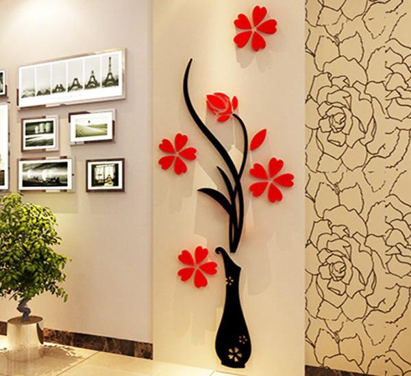Красивая стена преобразит ваш интерьер