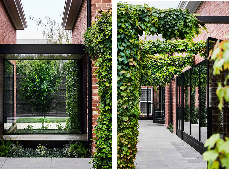 Получилась современная зона отдыха с прекрасной зелёной террасой