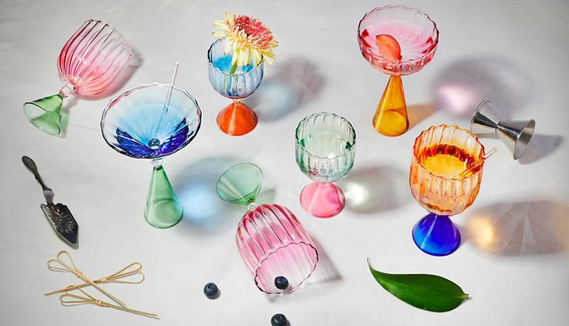 Цветное стекло в интерьере